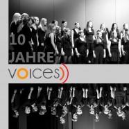 10 JAHRE zusammen Singen. 10 JAHRE Begeisterung. 10 JAHRE Gemeinschaft.