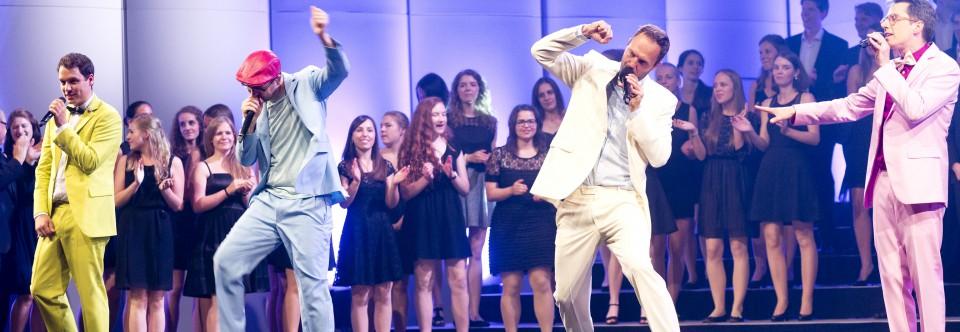 Ein Hoch auf's Leben! –Erfolgreiches Konzert mit MAYBEBOP